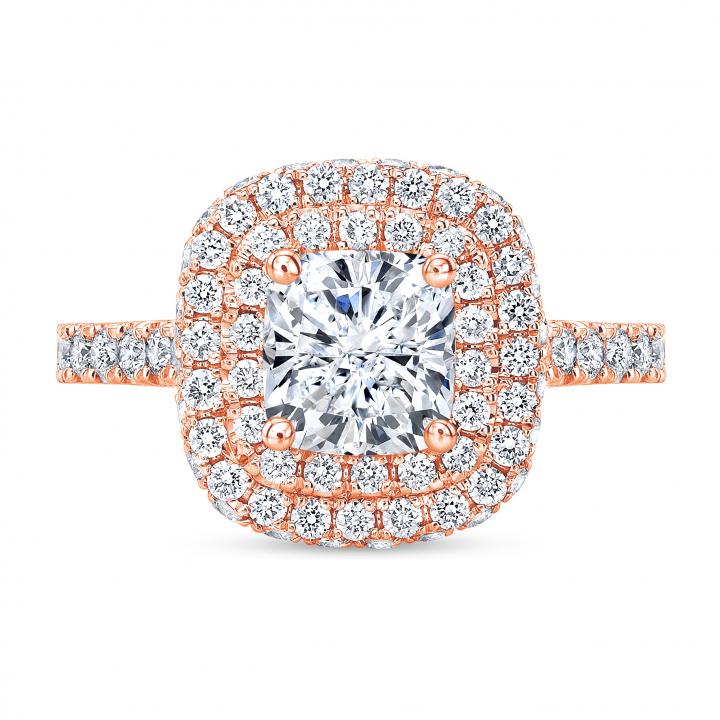 Celebrity Rose Gold Engagement Rings