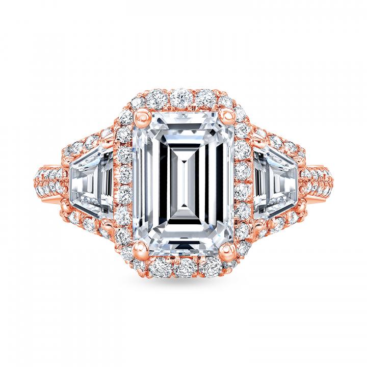 Rose Gold Engagement Ring Settings