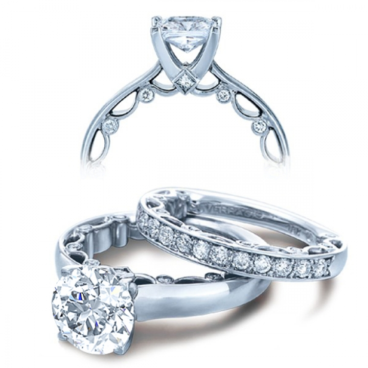 Contemporary Bridal Wedding Ring Sets