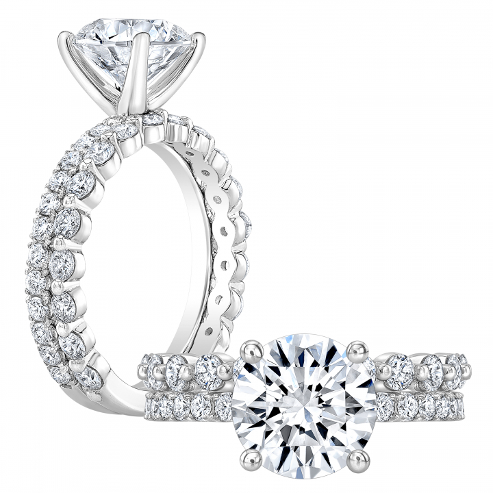 Top25 Round cut Engagement Rings