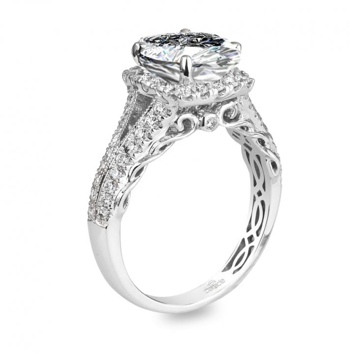 Edwardian Marquise cut Engagement Rings