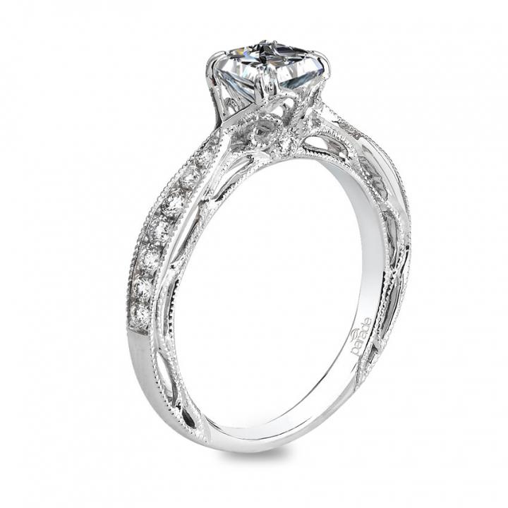 Trendy Princess cut Engagement Rings
