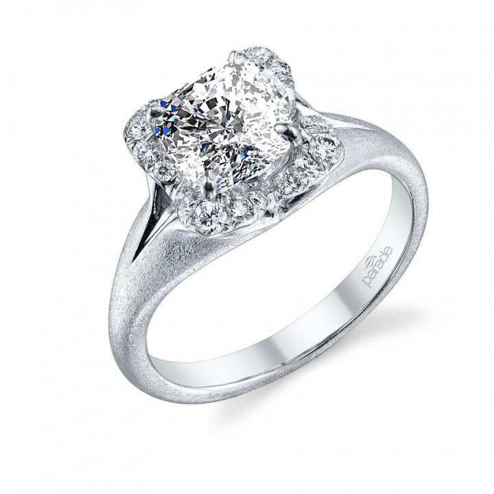 Trendy Split Shank Engagement Rings