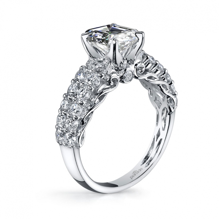 Simple Split Shank Engagement Rings
