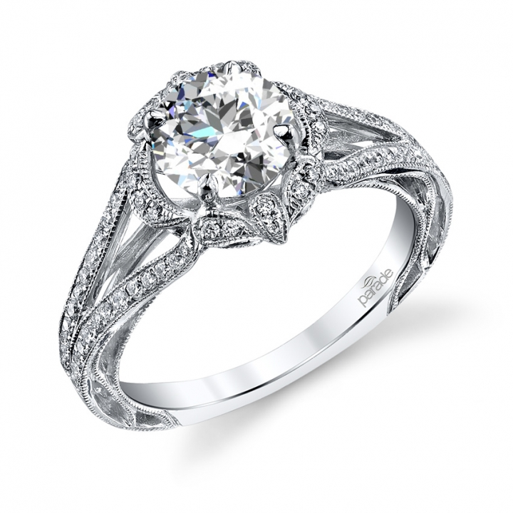 Trendy Halo Engagement Rings