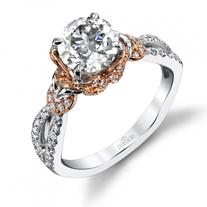 Trendy Round cut Engagement Rings