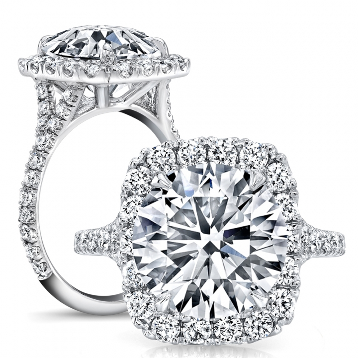 Classic Round cut Engagement Rings