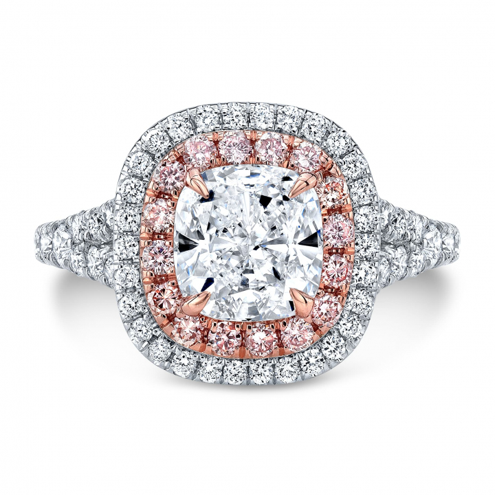 Modern Halo Engagement Rings