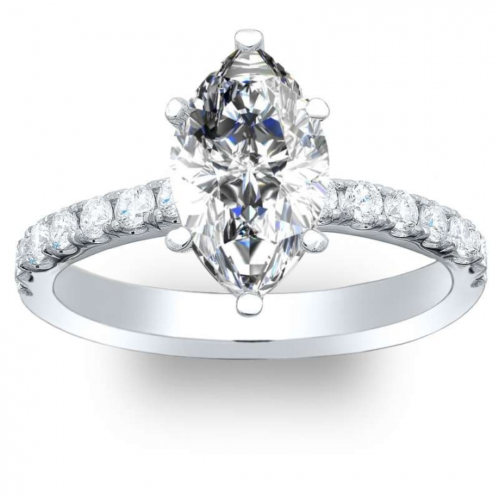 Top25 Marquise cut Engagement Rings