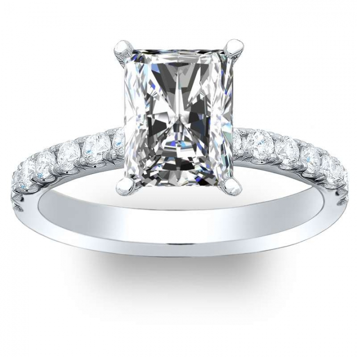 Top25 Radiant cut Engagement Rings