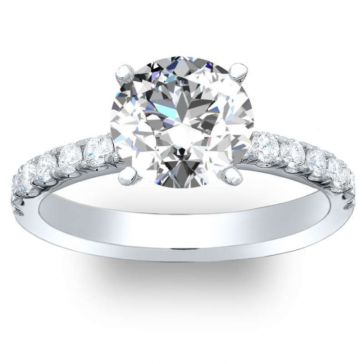 Top25 Pave Engagement Rings