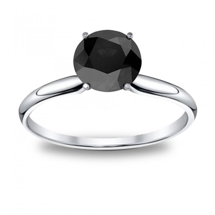 Black Diamond Engagement Rings | Diamond Mansion