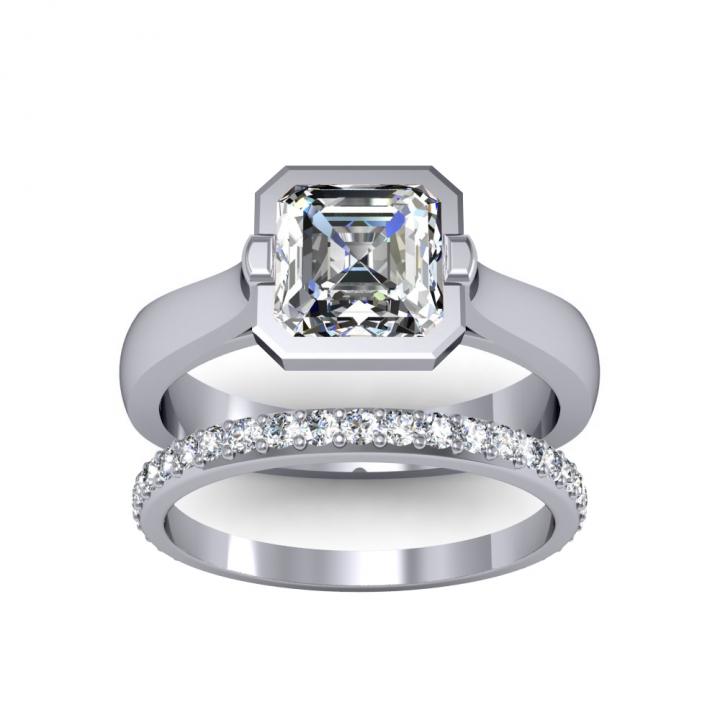 European Bridal Wedding Ring Sets