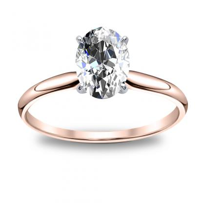 Oval Diamond Solitaire Oval Cut Solitaire Diamond