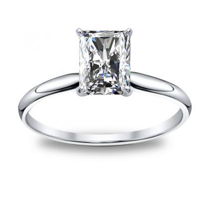 Antique Radiant cut Engagement Rings