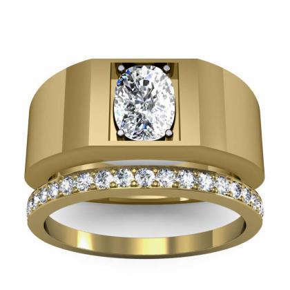 0.7ct. natural diamond cushion cut 4mm thick shank solitaire natural diamonds anniversary ring 18k yellow gold gia