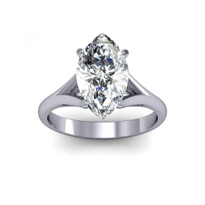 trellis marquise cut engagement rings