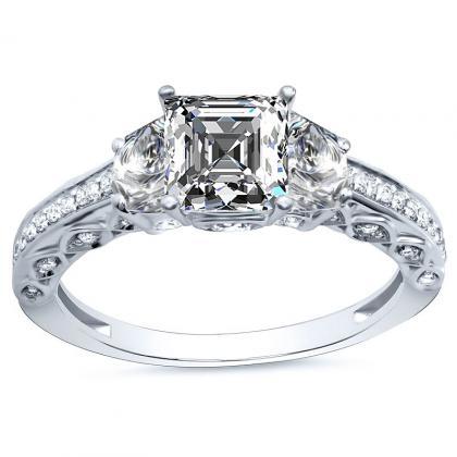 Three Stone Engagement Rings