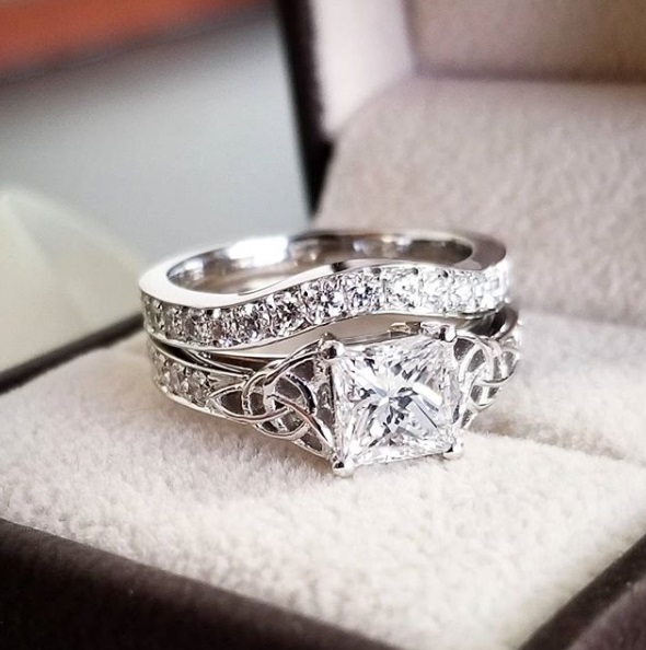 Rose Gold Engagement Ring Settings