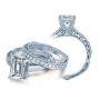 Milgrain Solitaire Venetian Verragio Diamond Engagement Ring