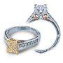 Verragio Vintage Filigree Designer Diamond Engagement Ring