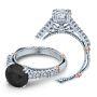 Verragio Parisian Pave Accent Designer Engagement Ring
