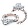 Verragio Couture Infinity Round Sidestones Designer Engagement Ring