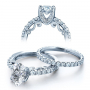 Verragio Insignia Vintage U-Prong Diamond Engagement Ring