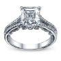 Split Shank Verragio Diamond Engagement Ring