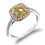 Halo Pave Diamond Engagement Ring Hemera Bridal  R1915/C1-WR