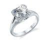 Parade Design Hemera Bridal Split Shank Halo Engagement Ring