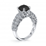 Parade Design Hemera Bridal Twisted Pave Design Engagement Ring