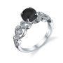 Parade Design Hera Bridal Meandering Vines Milgrain Pave Design Ring