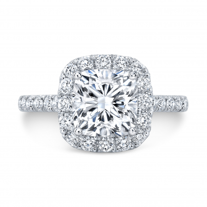 Eternity Engagement Ring Settings