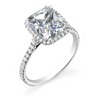 Celebrity Princess cut Engagement Rings