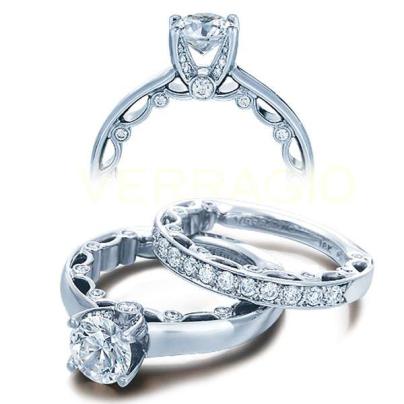 Art Deco Solitaire Engagement Rings