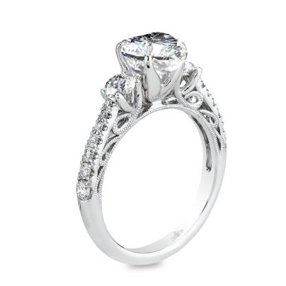 Trendy Heart Shape Engagement Rings