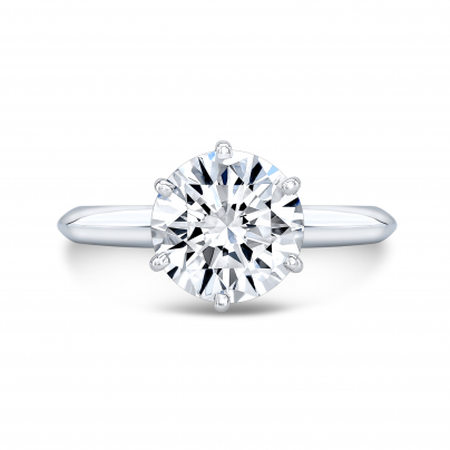 Celebrity Round cut Engagement Rings