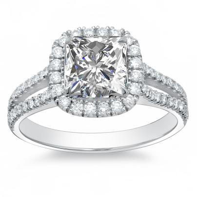 Unusual Princess cut Engagement Rings