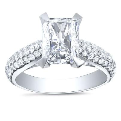 Top25 Radiant cut Engagement Rings