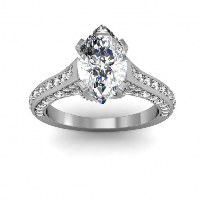 Classic Marquise cut Engagement Rings