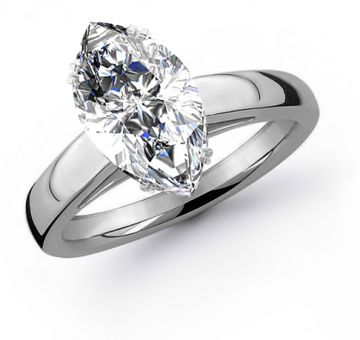 Marquise cut Engagement Rings