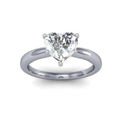 Heart Shape Diamond Engagement Rings
