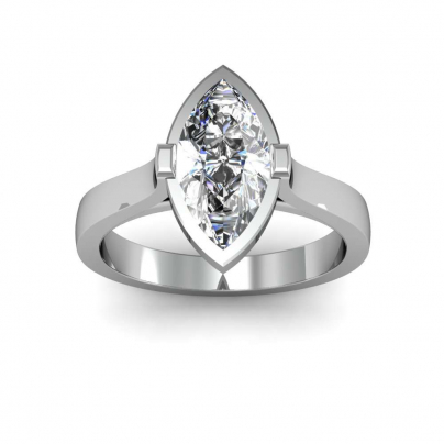 European Marquise cut Engagement Rings