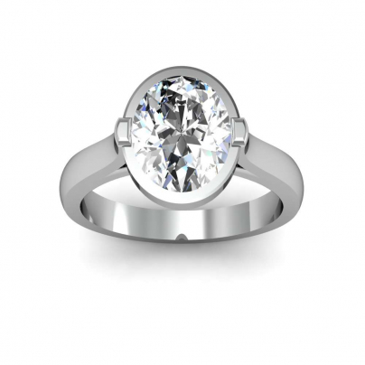 European Oval cut Engagement Rings