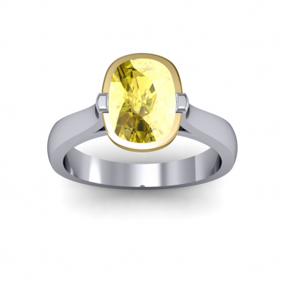 European Yellow Diamond Engagement Rings