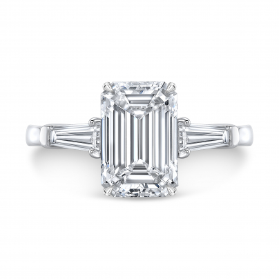 Vintage Three Stone Engagement Rings