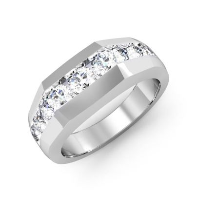 SWAT Round Cut Men's Diamond Ring