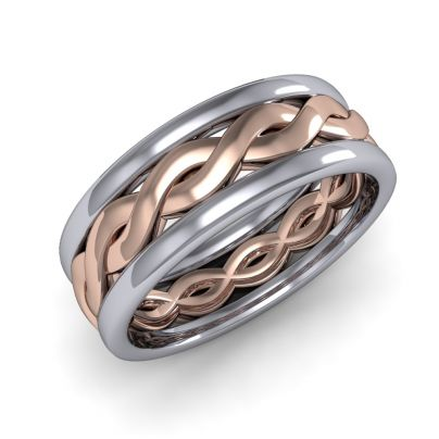 Infinity Two-Toned Band