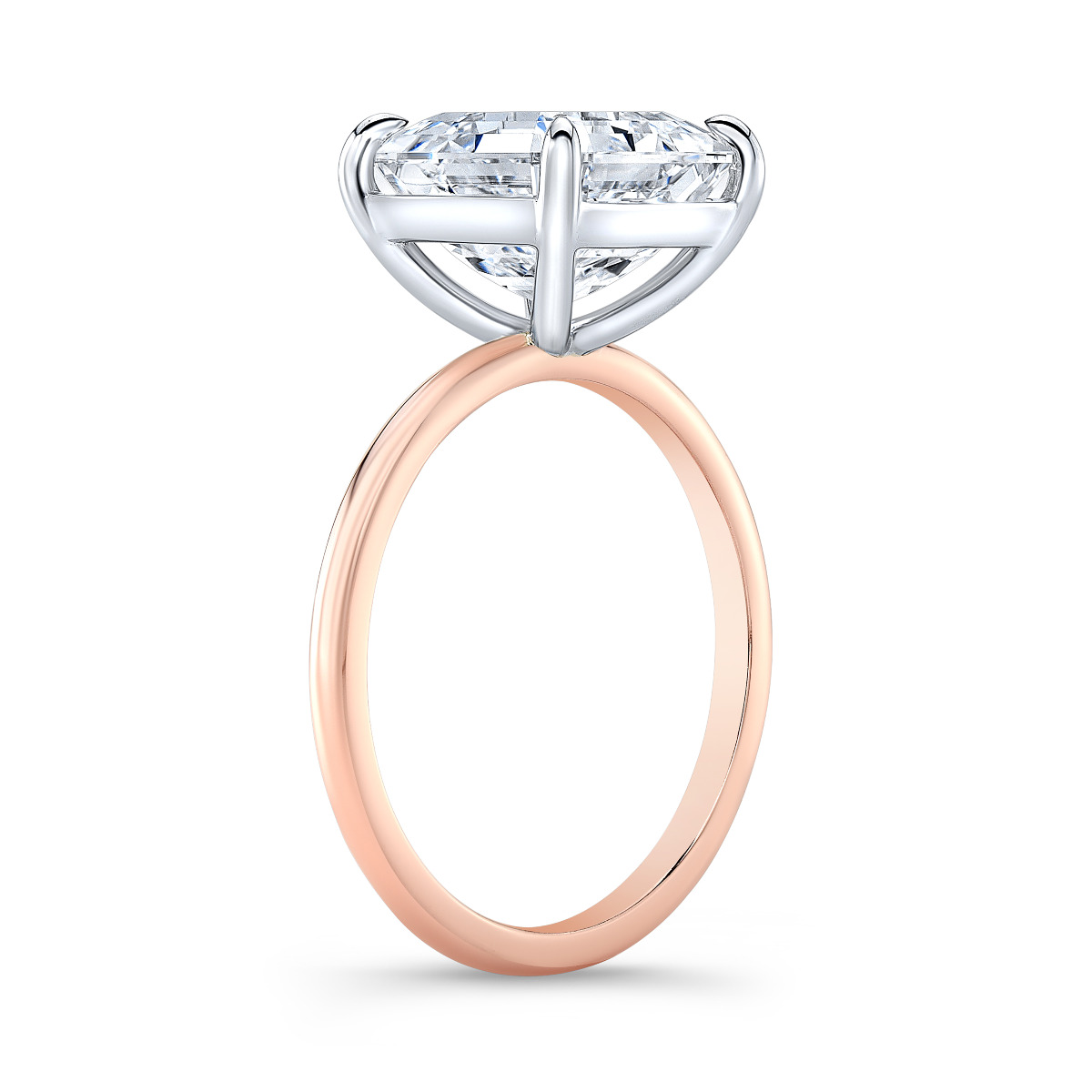 Ultra Thin Solitaire Engagement Ring